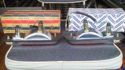 画像3: ダットサン 521 輸出用フロントランプ 左右セット Front lamps for Datsun 521